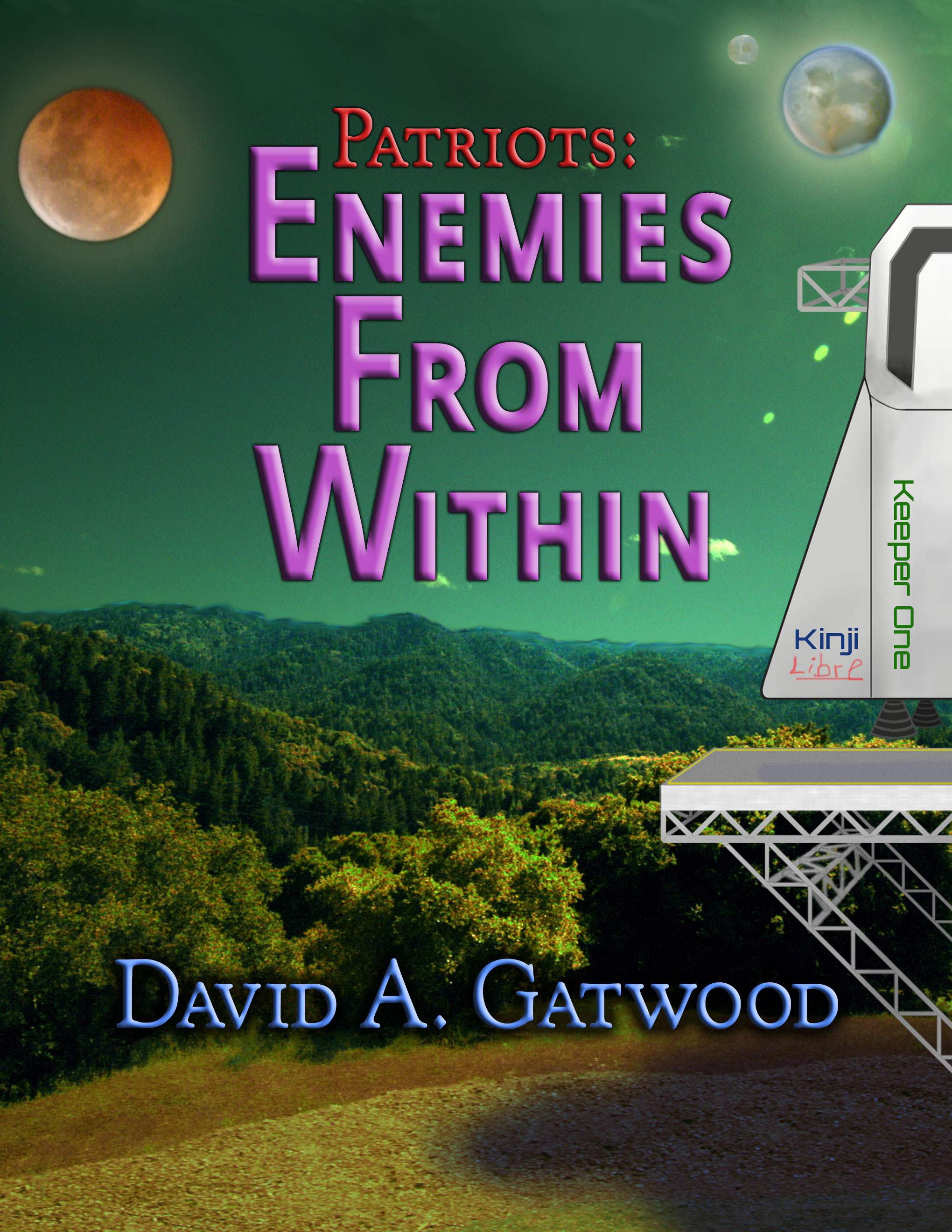 Cover art image for Enemies From Within