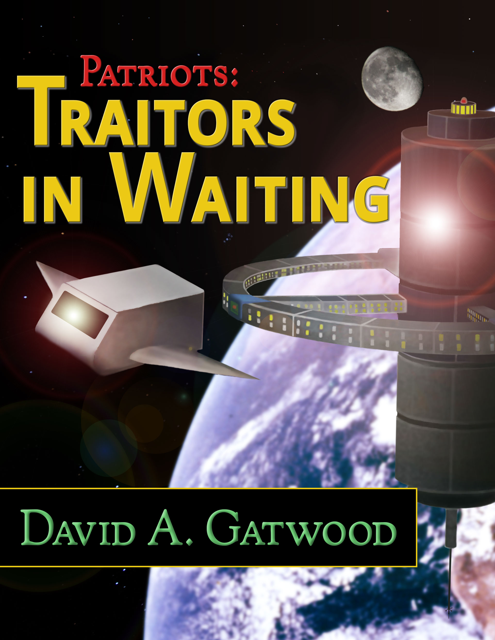 Cover art image for Traitors in Waiting